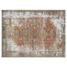 "1920's Persian Heriz Carpet - 9'3"" x 12'5"""
