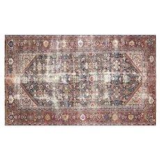 "1920s Persian Mahal Carpet - 6'4"" x 10'7"""