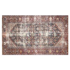 "1920's Persian Mahal Carpet - 6'4"" x 10'7"""
