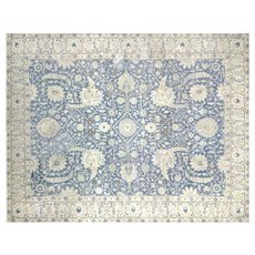 "1940's Persian Tabriz Carpet - 10'3"" x 13'2"""