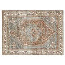 "1920s Persian Shiraz Carpet - 7'4"" x 10'1"""