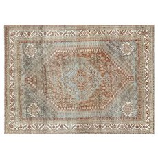 "1920's Persian Shiraz Carpet - 7'4"" x 10'1"""