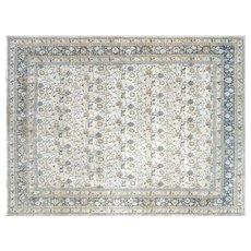 "1920's Persian Mashhad Carpet - 8'7"" x 11'4"""