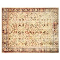 "1930s Indian Mahal Carpet - 9'6"" x 12'6"""
