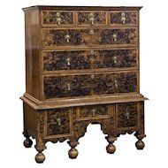 English Country House Mulberry Chest