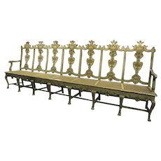 Italian Painted Long Settee