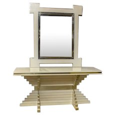 French Jensen Console and Mirror