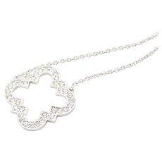 Du Maroc Diamond and 18 Carat Gold Necklace