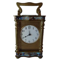 Rare 19th Century French Carriage Clock