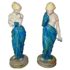 Royal Worcester Figures Joy and Sorrow