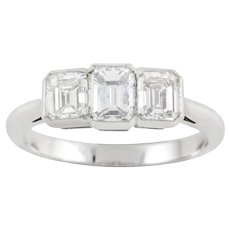 A Diamond Three Stone Ring By Boodles