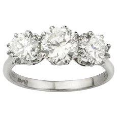 A Single Stone Solitaire Diamond Ring