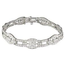 An Art Deco Diamond-set Bracelet