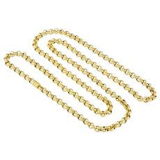 A Victorian Gold Belcher Link Guard Chain