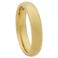 A 18ct Yellow Gold Wedding Band