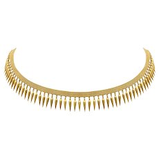 A 19th Century Archaeological Revival Gold Necklace
