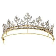 A Late Victorian Diamond-set Tiara