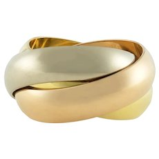 A Cartier Trinity Wedding Ring