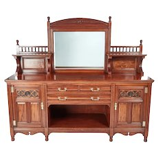 Magnificent Quality Gillow & Co Mahogany Sideboard C.1880