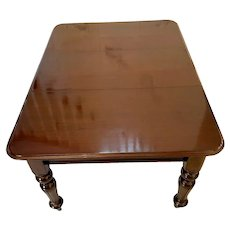 Antique William IV Mahogany Extending Dining Table