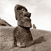 Reenie Barrow, Rano Raraku # 2, Easter Island, 2015, 2/5