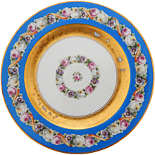 Set of 10 Royal Bavarian Dessert Plates, Early 20th Century