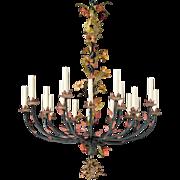 Floral Motif Chandelier