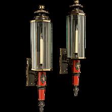 Pair of Italian Wall Lanterns