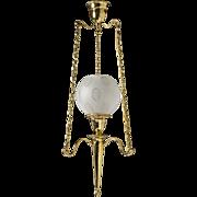 Edwardian-style Brass Lantern