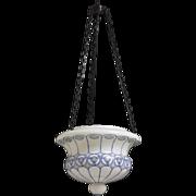 Swedish Opaline Pendant