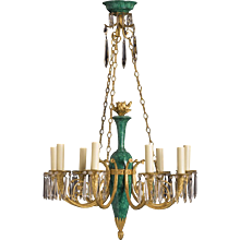 Directoire-style French Chandelier