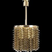 Swedish Amber Glass Pendant