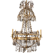 19th Century Swedish Chandelier