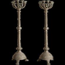 Pair of Swedish Torcheres