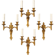 Set of Four Louis XVI-style Sconces