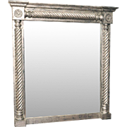 Neoclassical Style Silver Gilt Mirror, Early 20th Century
