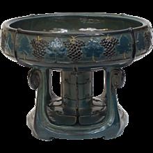 Teplitz Pottery Compote