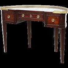Demilune Louis XVI-style Desk