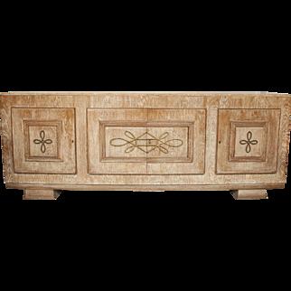 French 40's Cerused Oak Sideboard