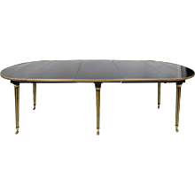 Jansen Ebonized Dining Table