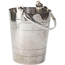 Silver Plated Ice Bucket