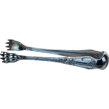 Silver Plated Tongs