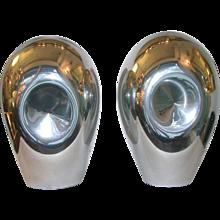 1970s Vistosi Pair of Lamps