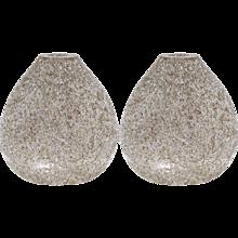 Paolo Crepax Pair of Organic Murano Glass Vases
