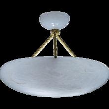 Alabaster Light Fixture