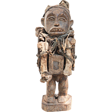 Early 20th Century African Tribal Fetish Figure
