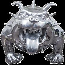 Cast Aluminum Bulldog