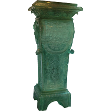 Louis XIV-style Cast Resin Column