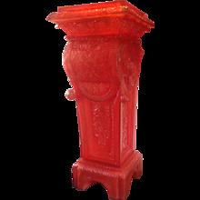 Louis XIV-style Cast Resin Column