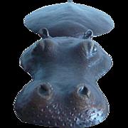 Little Hippo in Bronze